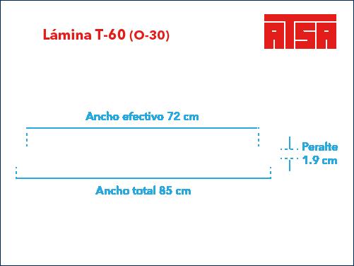 Acanalado T-60 (O30)